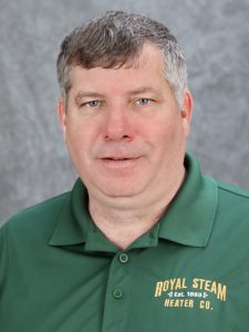 Stephen Hill, Crew Superintendent, Royal Steam Heater